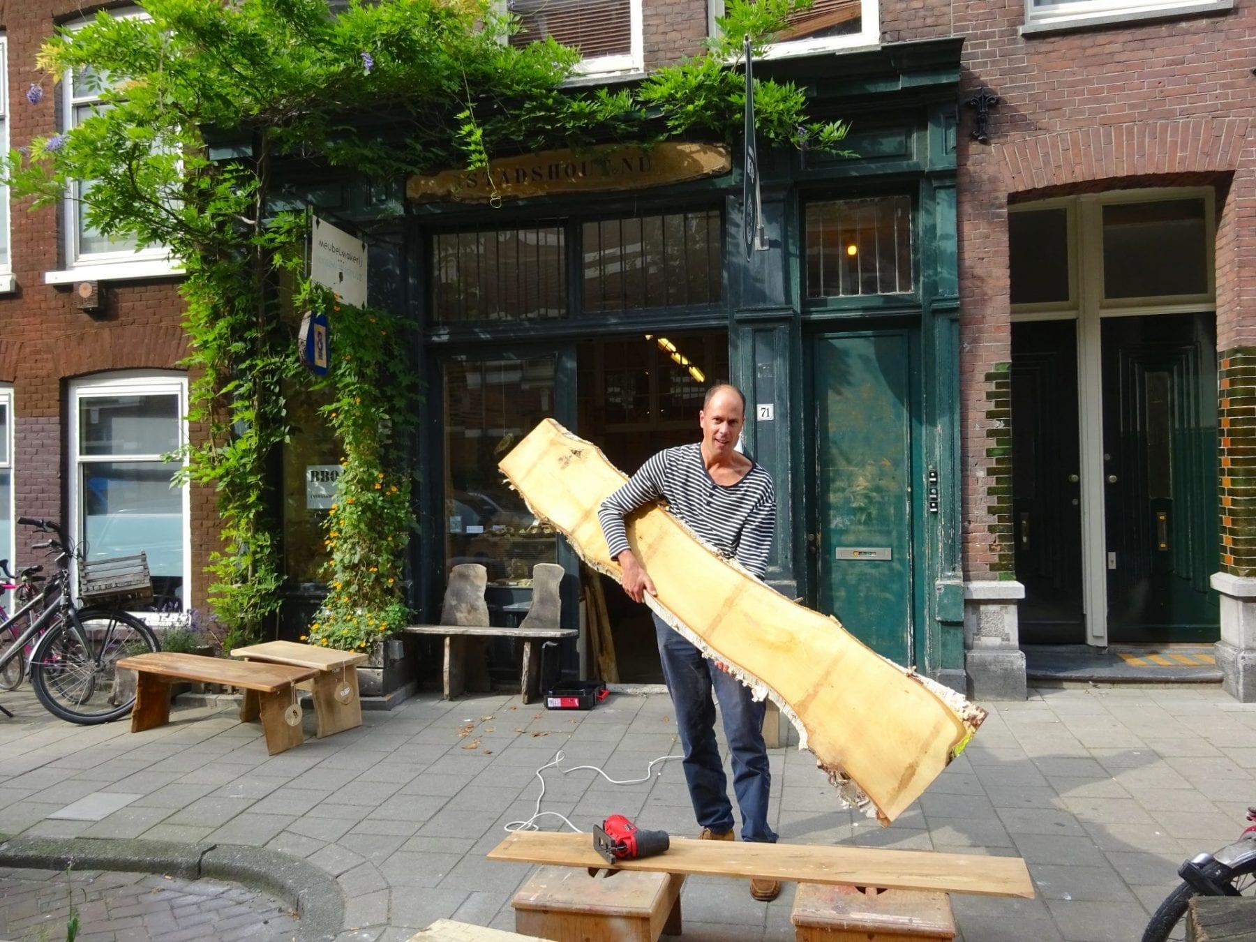 Amsterdams stadshout