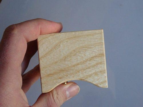 Speeldoosje van hout