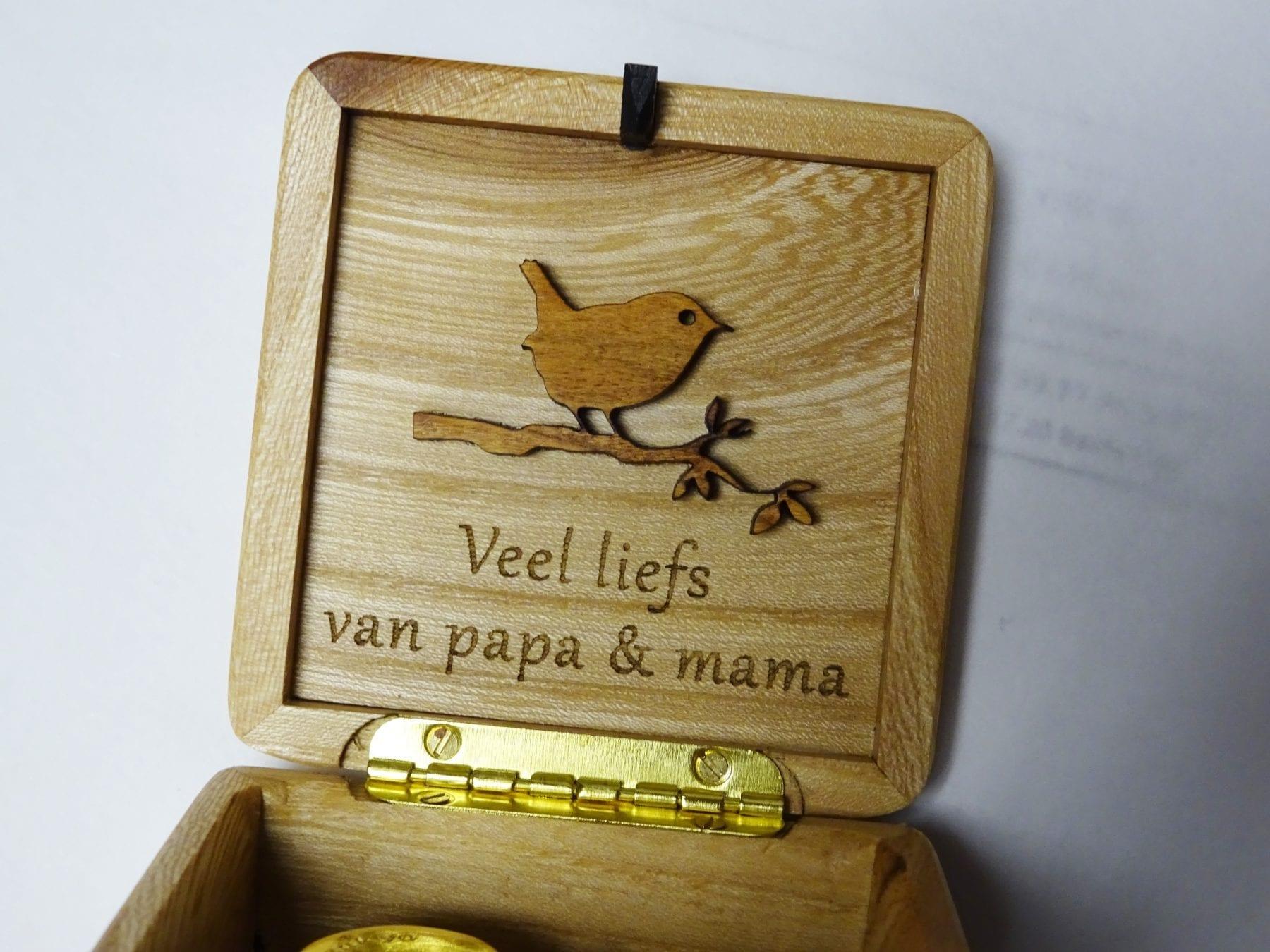 Engraving Robin