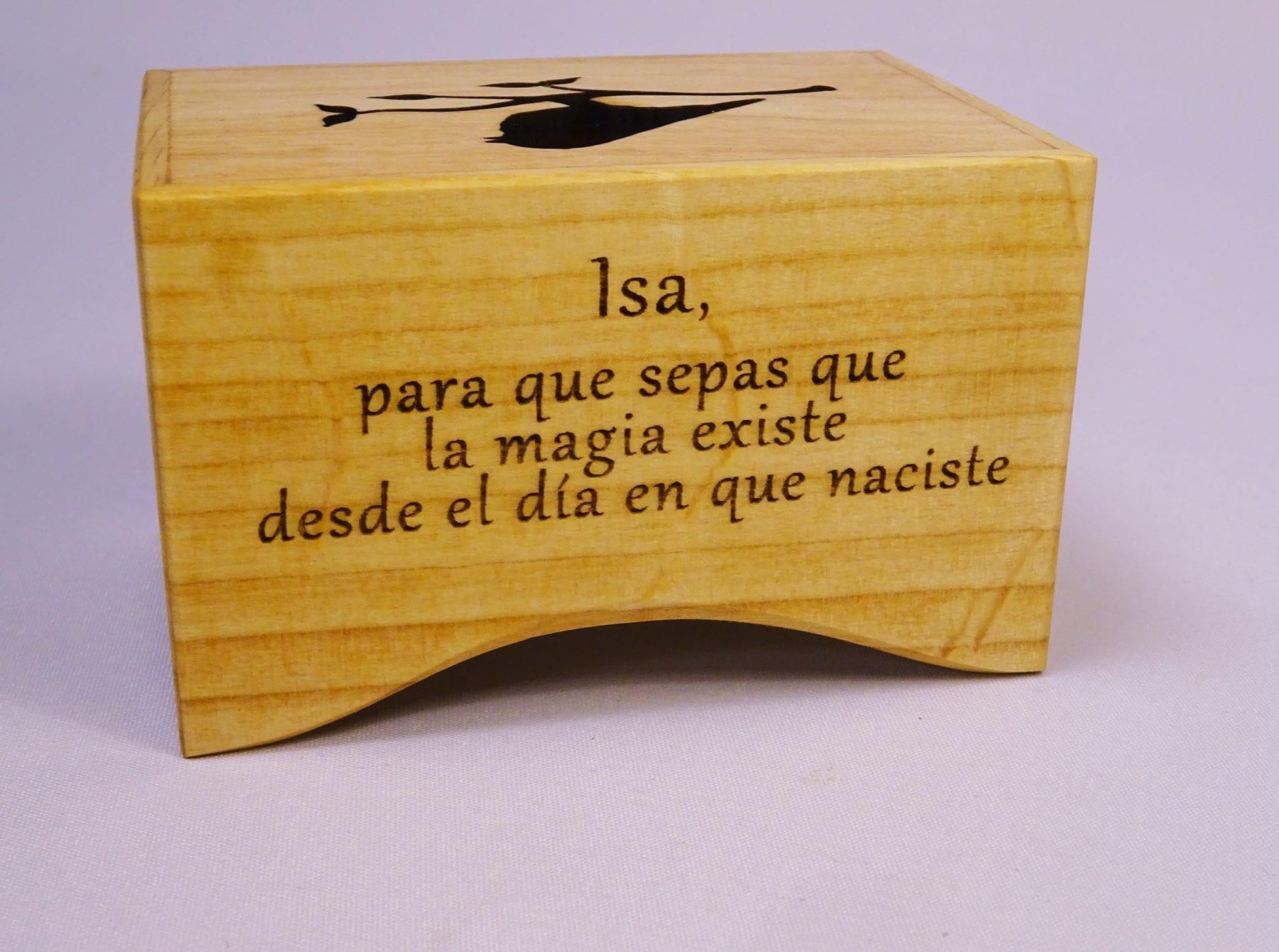 Engraving Celesta (long text)