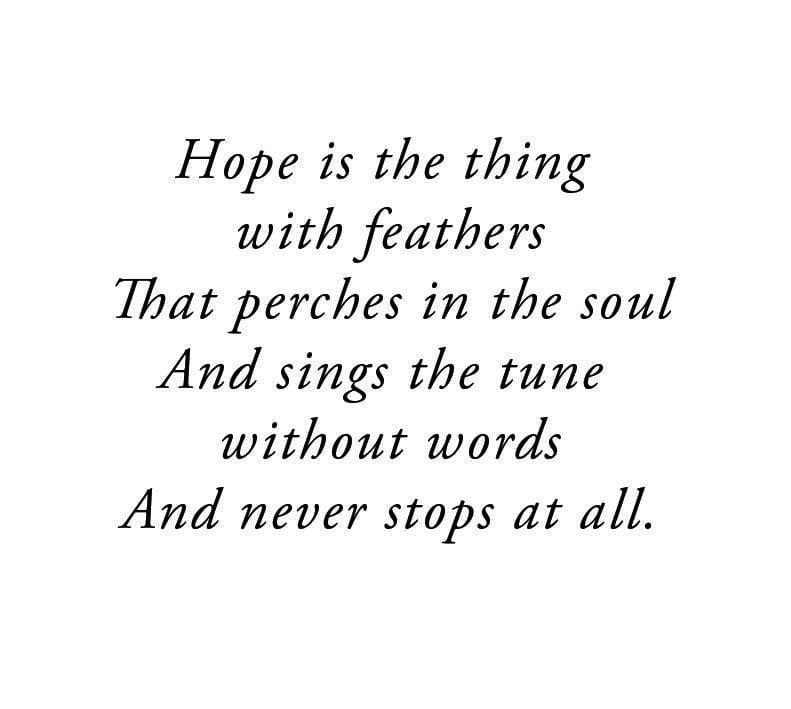13. Hope