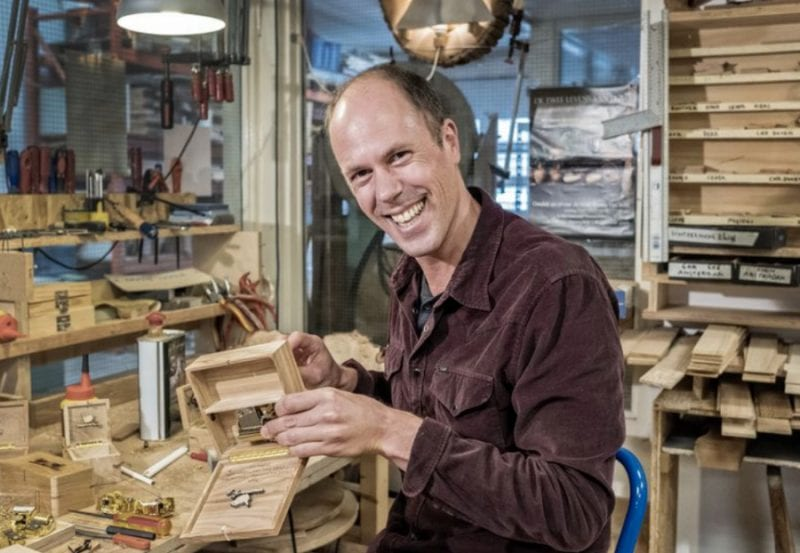 Music box maker Utrecht