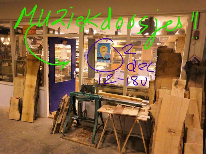 Open Atelier 2 december!