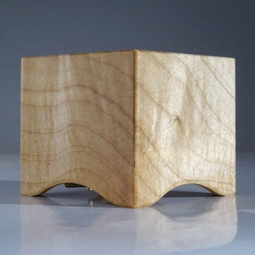Muziekdoosje van Utrechts hout