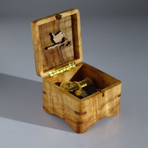 Music box of wood from Utrecht