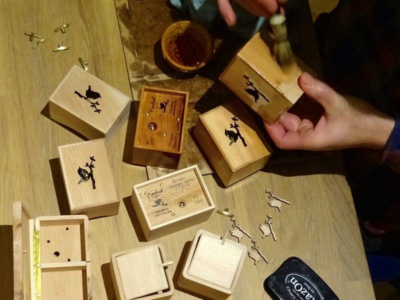 Timber oil from De Cokerije