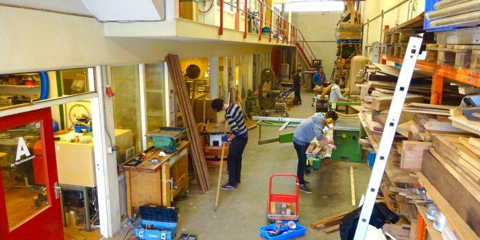 Werkplaats De Createur. Creatieve broedplaats in Utrecht