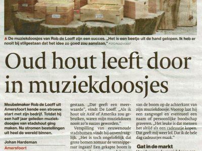 Music boxes Algemeen Dagblad