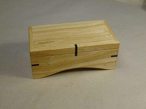 Muziekdoosje van hout