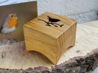 Music box Lude Opwind. Elm from Leeuwarden (storm wood 2013)