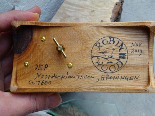 Speeldoos hout Noorderplantsoen Groningen