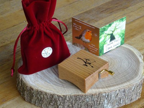 Music box Beech wood