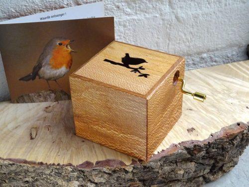 Music box city wood Antwerp