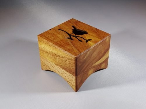 Music box from wood from Baarn