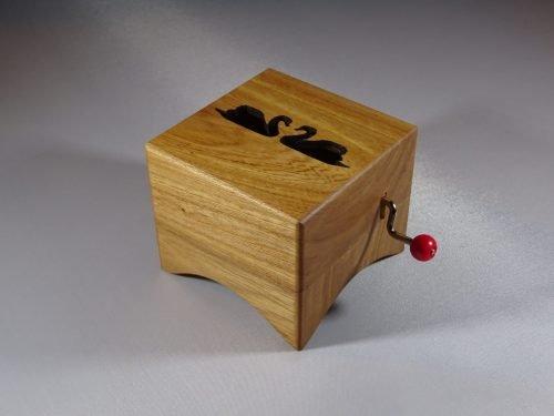 Wooden music box Zwanen utrecht