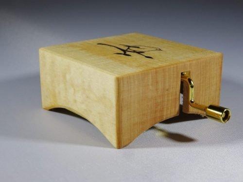 Muziekdoosje van hout Utrecht
