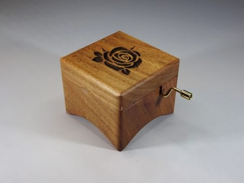Music box with Rose