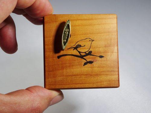 speeldoosje perenhout