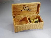 Music jewelry box Tamino Elegante. Oak from Utrecht (Juliana Park)