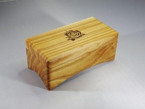 houten muziekdoos