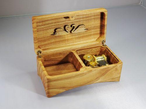 speeldoos van hout