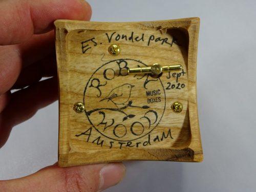 houten speeldoos amsterdam