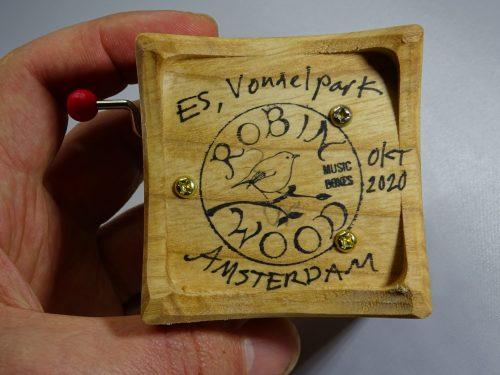 speeldoosje Vondelpark hout