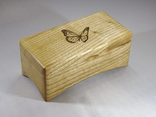 music box with butterfly