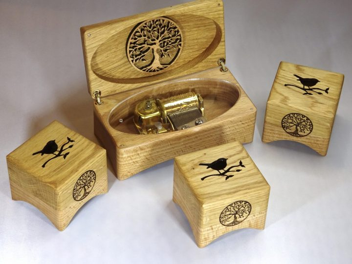Music boxes for The Palace