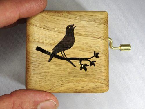 music box with singing nightingale