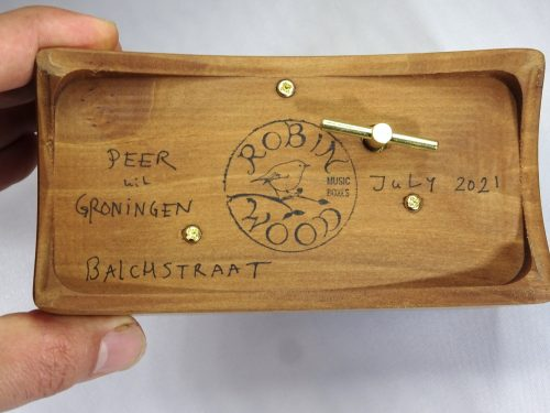pear wood from Groningen